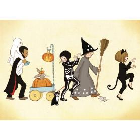 Belle & Boo - Halloween parade