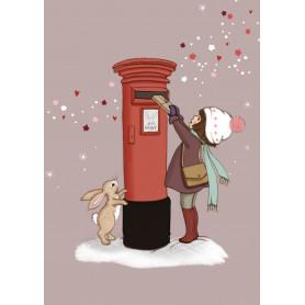 Belle & Boo - Christmas postbox
