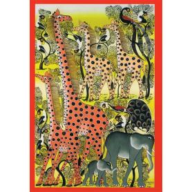 Gespikkelde giraffen