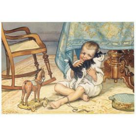 Ot en Sien knuffelkat