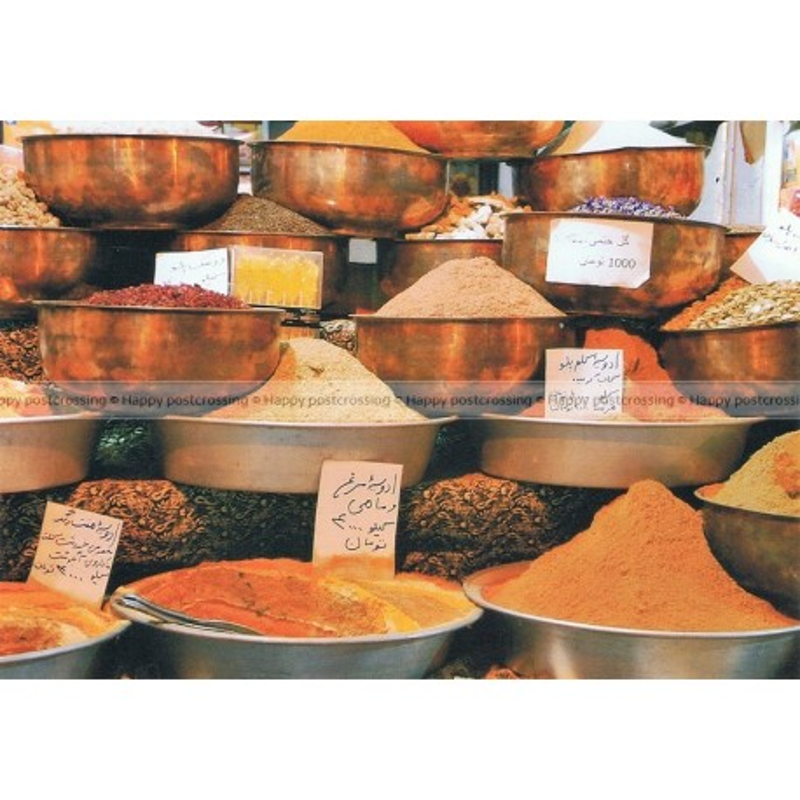 Specerijen op de markt