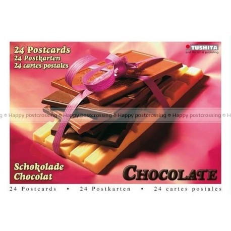 Postcardbook Chocolade