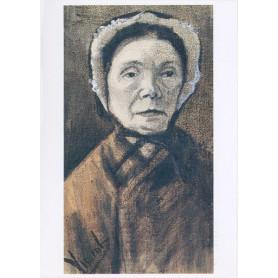 Vincent van Gogh - Vrouw met kap