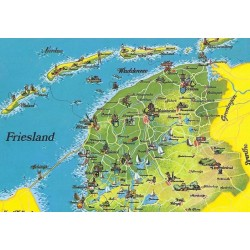 Map Friesland