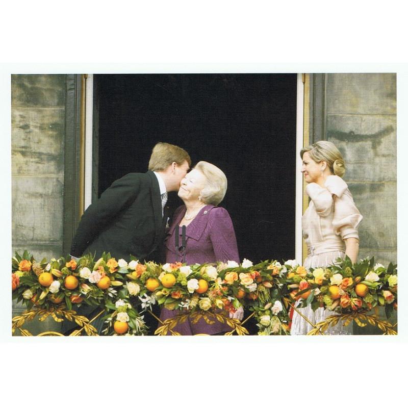 Koning Willem Alexander, Prinses Beatrix en Koningin Maxima
