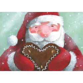 Kerstman met speculaas
