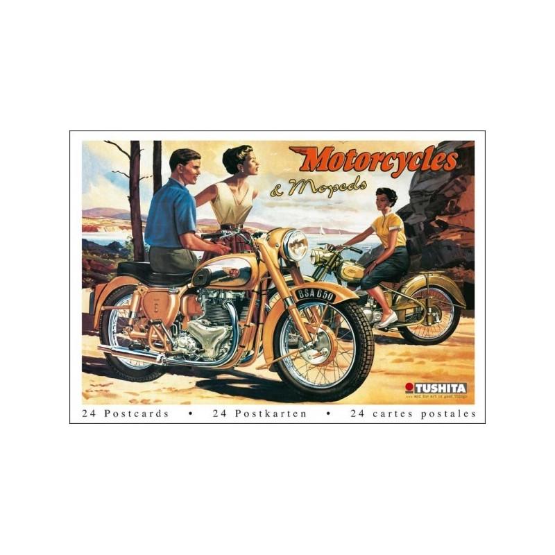 Postcardbook Motorcycles