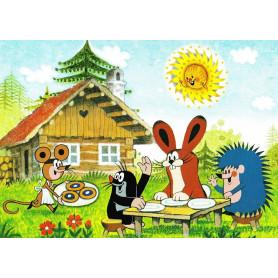 Krtek - picknicken