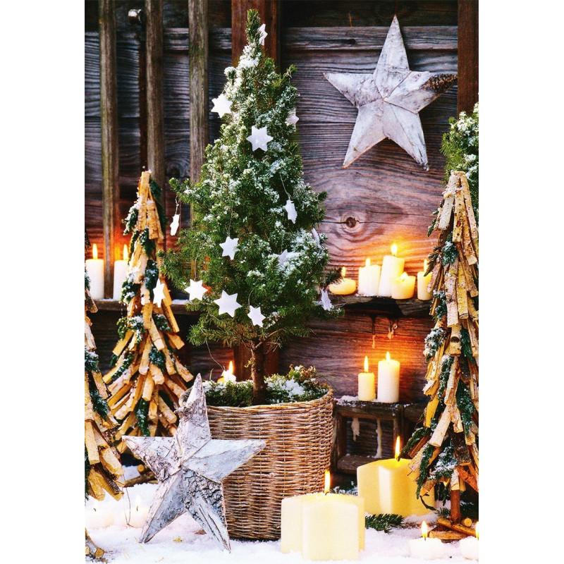Kerst in de achtertuin
