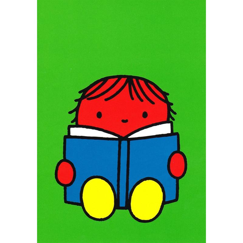 Nijntje - Daan aan het lezen