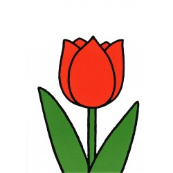 Dick Bruna - rode Tulp