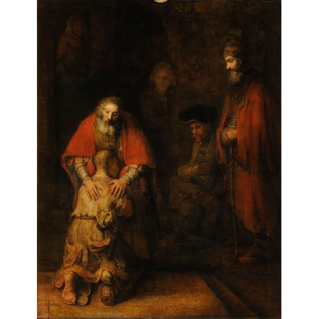 Rembrandt van Rijn - the return of the Prodigal Son