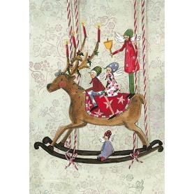 Silke Leffler - Christmas reindeer
