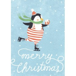 Merry christmas pinguin
