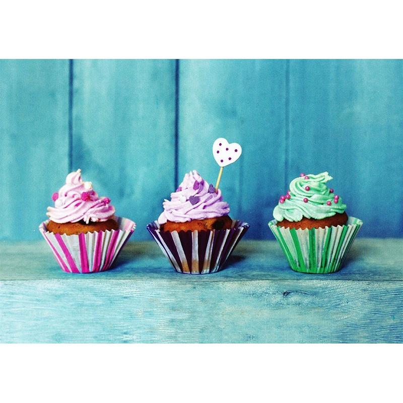 Drie Cupcakes