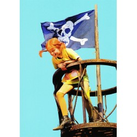 Pippi Langkous piratenvlag