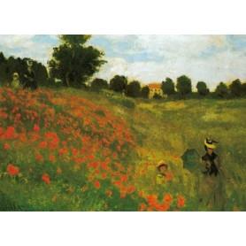 Claude Monet - Klaprozen