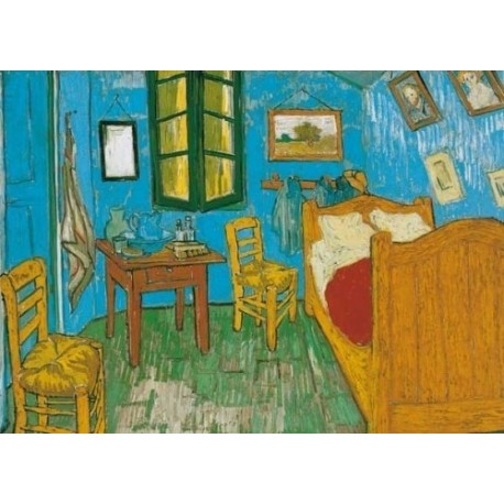 Vincent van Gogh - Bedroom in Arles