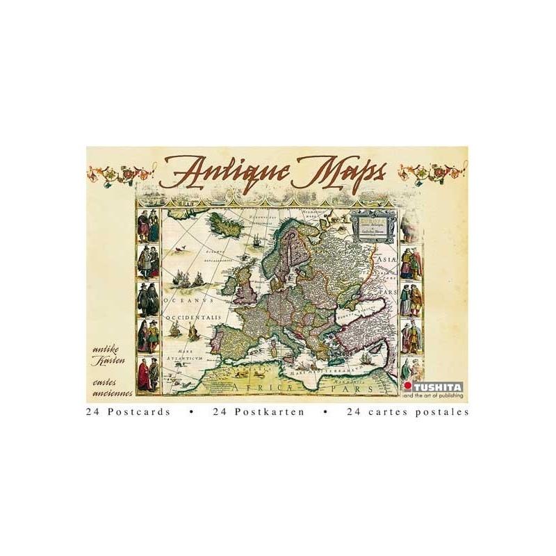 Postcardbook Map