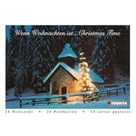 Postcardbook Kerst