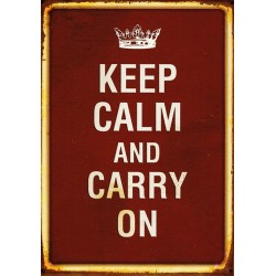 Keep Calm and carry on - vintage