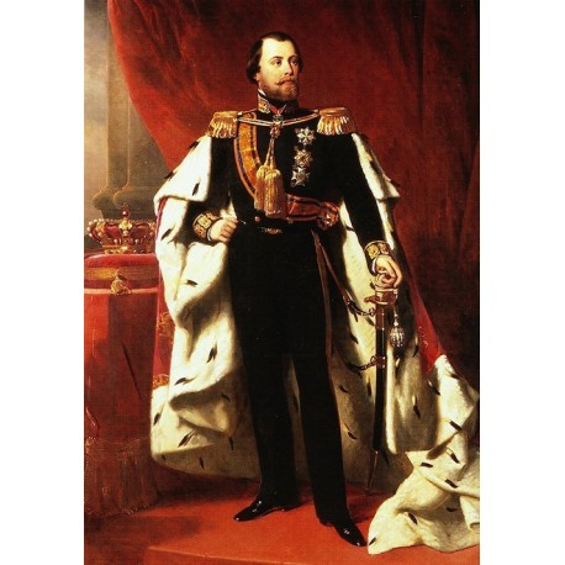 Koning Willem III in 1849
