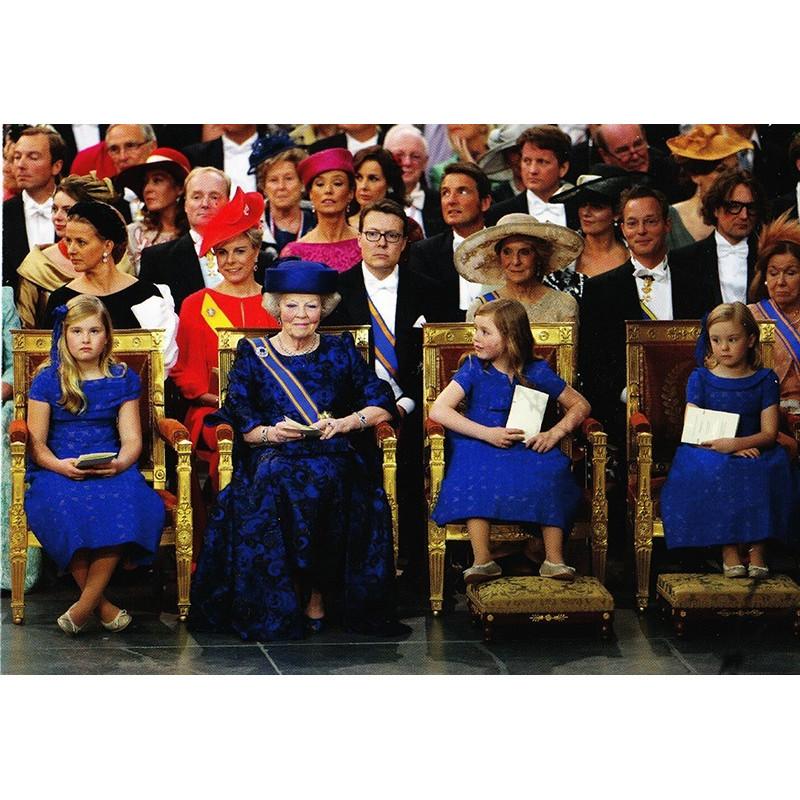 Tijdens de inhuldiging