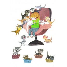 Fiep: hongerige katten