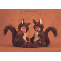 Anne Geddes - Squirrel babies