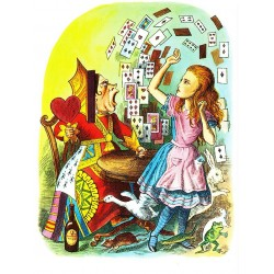 Alice in Wonderland - Cards