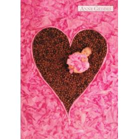 Anne Geddes - Pink Heart