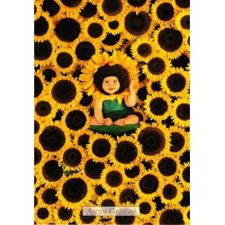 Anne Geddes - Lots of sunflowers