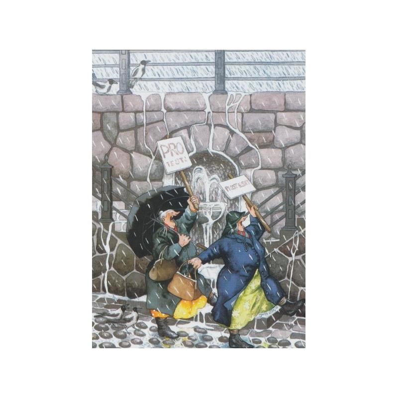 Inge Löök 30 - Protest in de regen