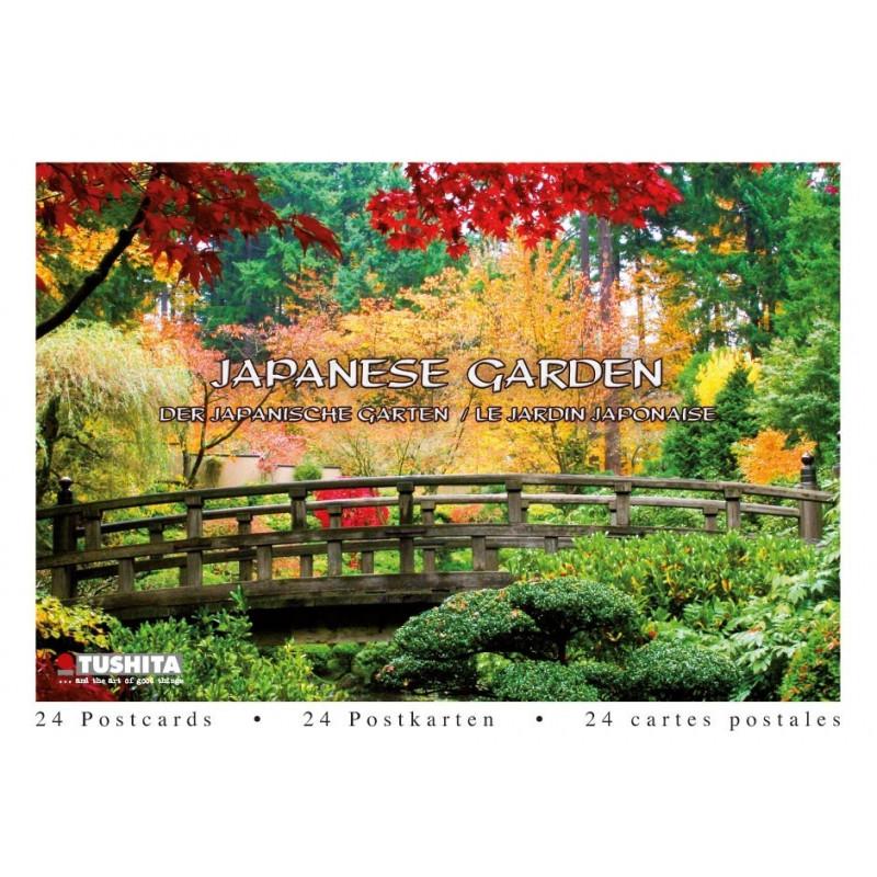 Postcardbook Japanese Garden