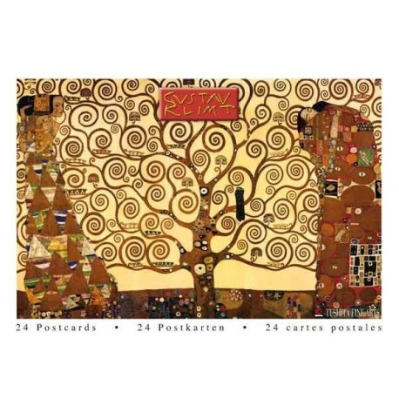 Postcardbook Gustav Klimt