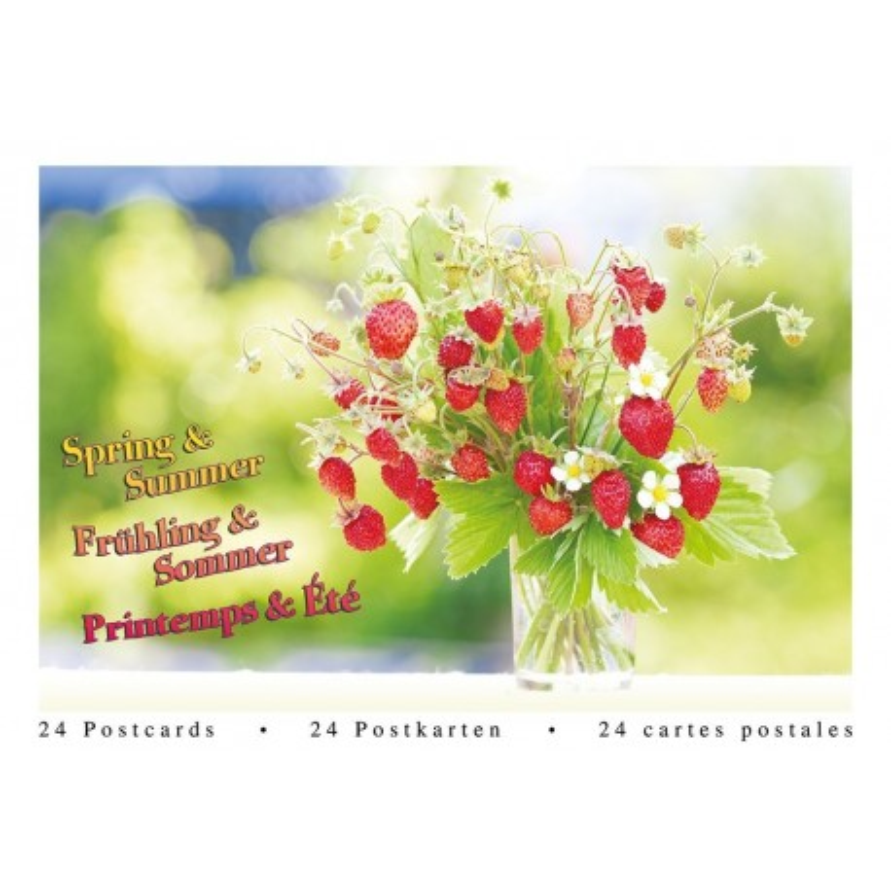 Postcardbook Lente