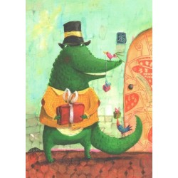 Izou - Crocodile with presents
