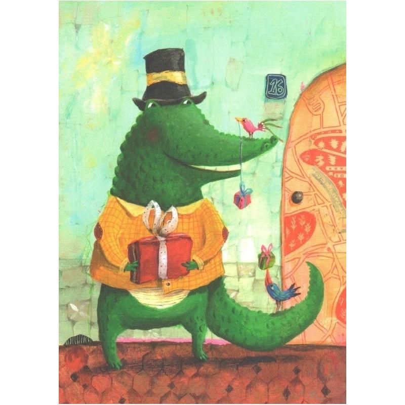 Izou - Crocodile with presents