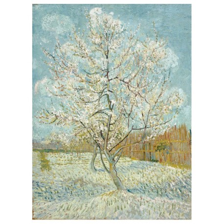 Vincent van Gogh - Peach tree in bloom
