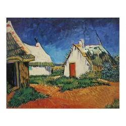 Vincent van Gogh - White Farmhouses