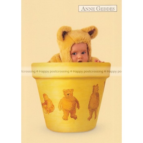 Anne Geddes - Yellow bear