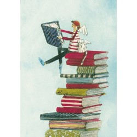 Silke Leffler - Boekenstapel
