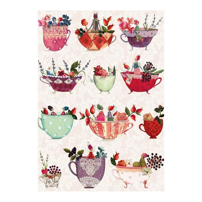 Silke Leffler - Teacups