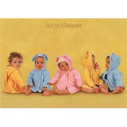 Anne Geddes - Five bunnies