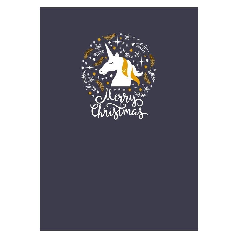 Merry Christmas Unicorn