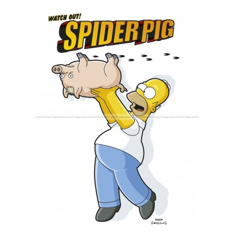 The simpsons - Spiderpig