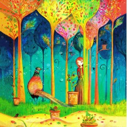Jehanne Weyman - Colorful forest