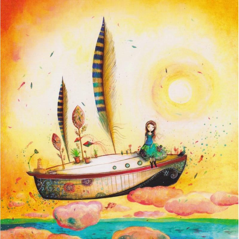 Jehanne Weyman - Le Bateau Plume