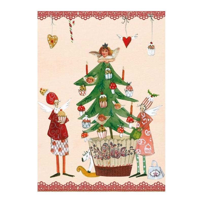Silke Leffler - Christmas cupcakes