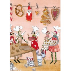 Silke Leffler - Baking Christmas cookies